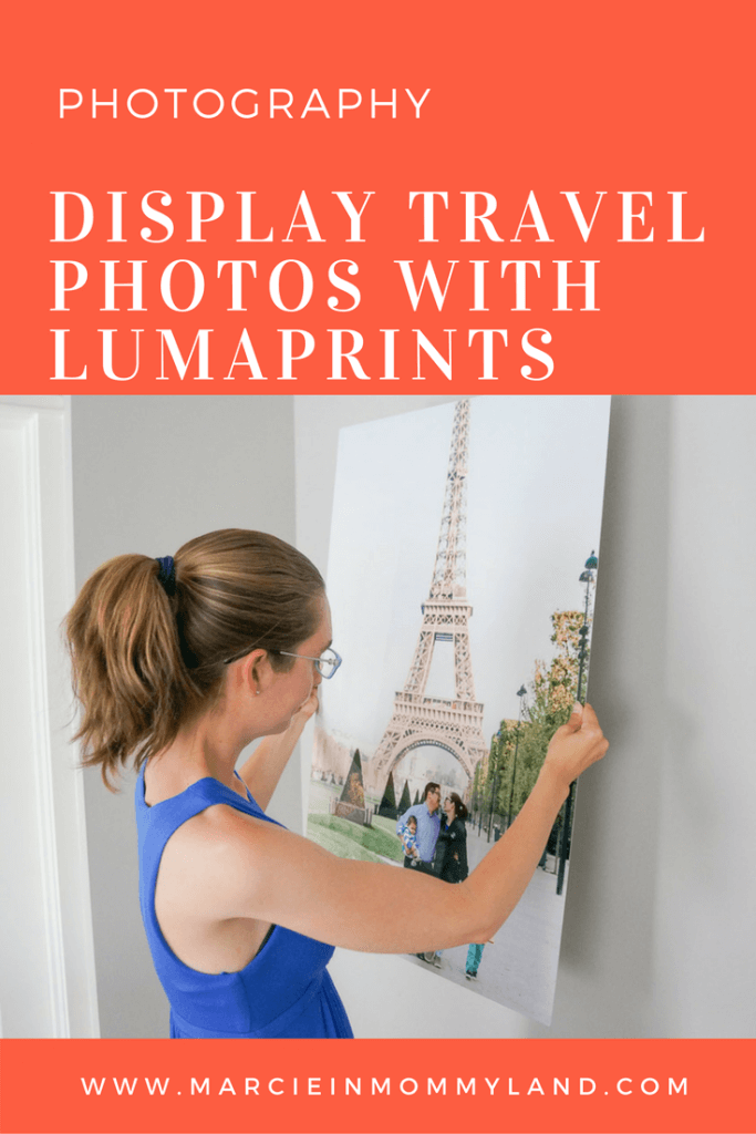 Display Travel Photos with Lumaprints