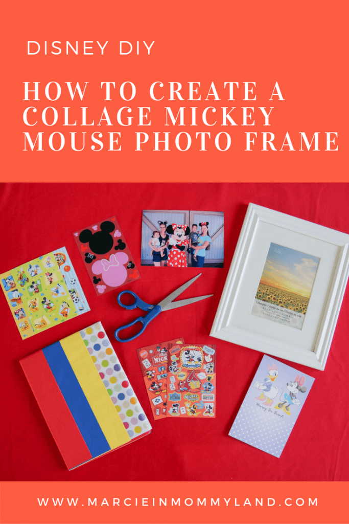 How to create a collage Mickey Mouse photo frame