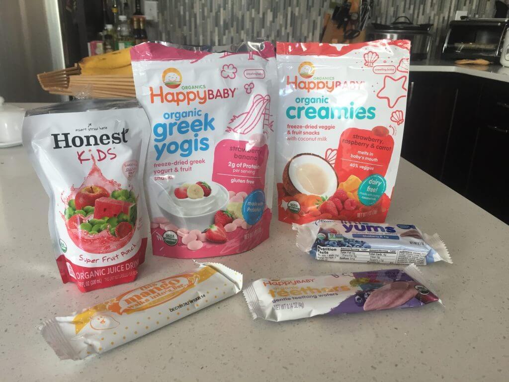 Favorite travel snacks for kids
