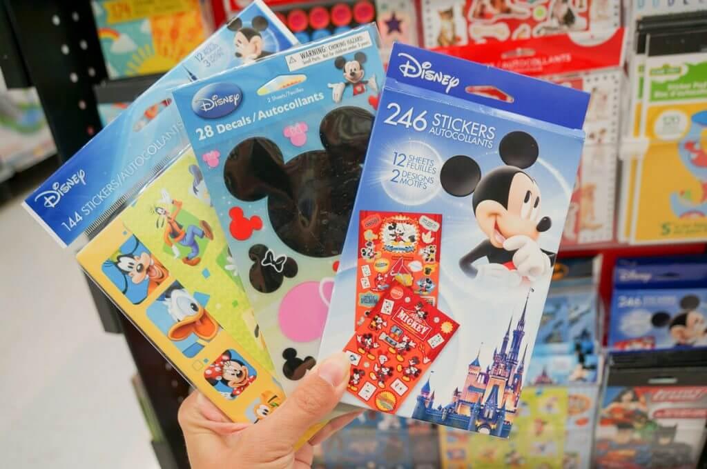 American Greetings Disney stickers