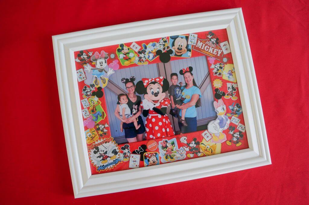 Disney photo collage frame