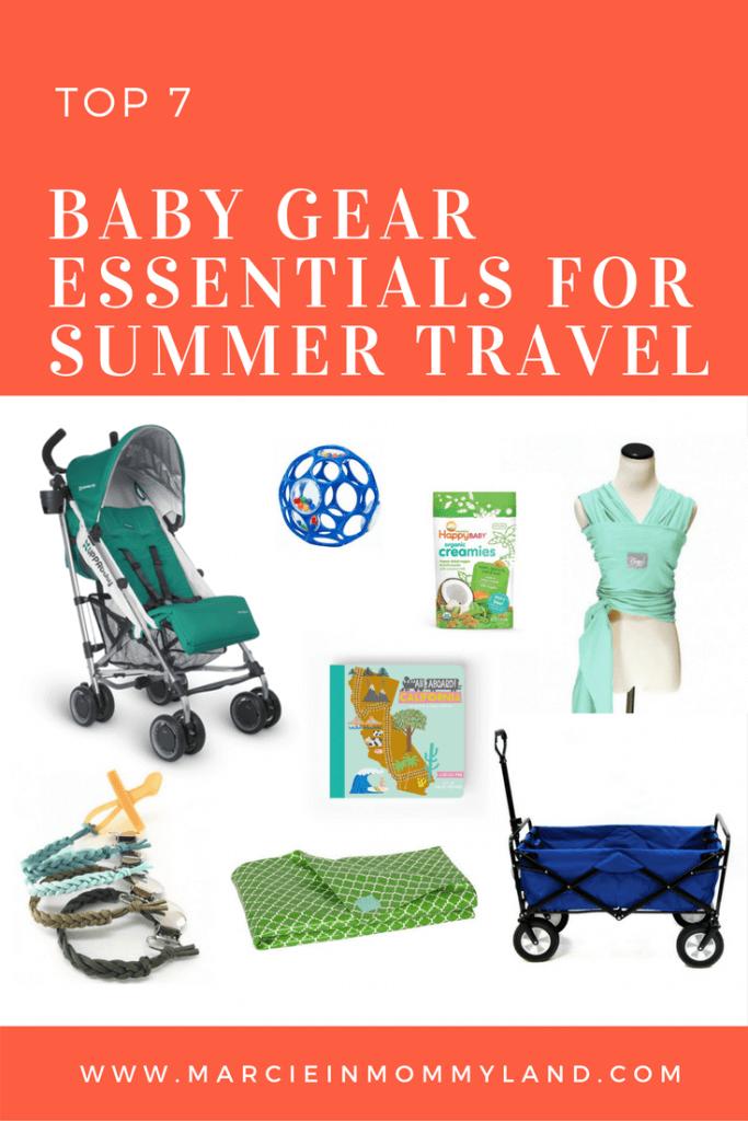 Top 7 Baby Gear Essentials for Summer