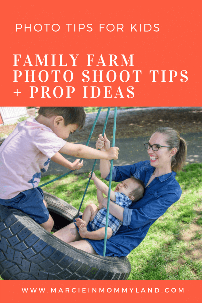Family Farm Photo Shoot Tips & Prop Ideas