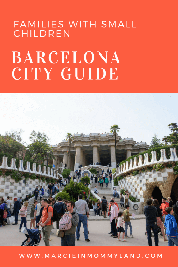 Barcelona City Guide for Families with Small Children
