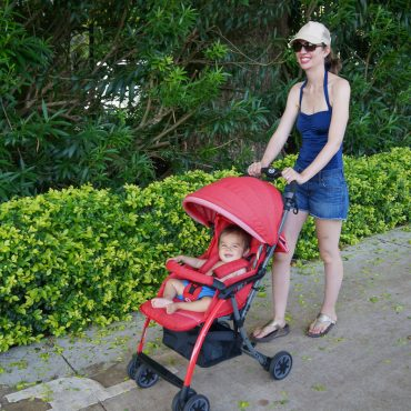 Lightweight Travel Stroller Review: Pali Tre.9 Denim Attitude