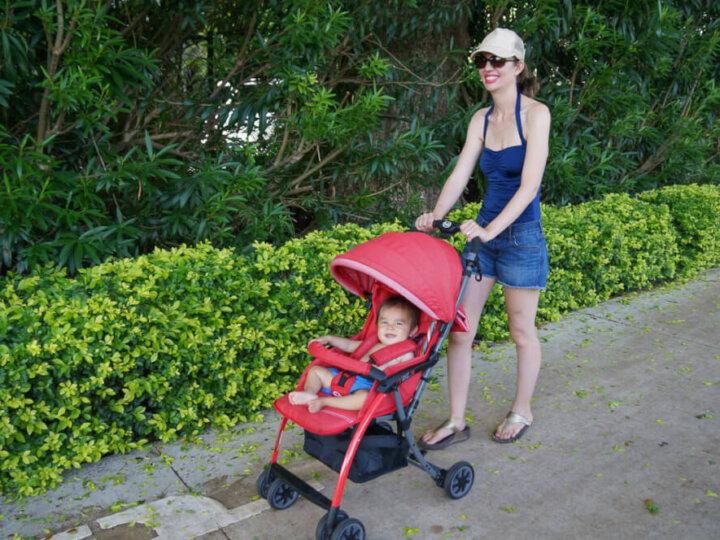 Lightweight Travel Stroller Review: Pali Tre.9 Denim Attitude