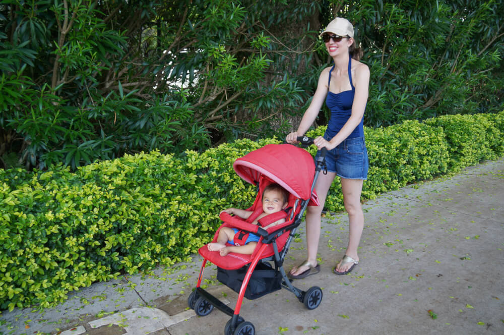 6daf4dd99a2 Lightweight Stroller Review  Pali Tre.9 Denim Attitude Travel Stroller