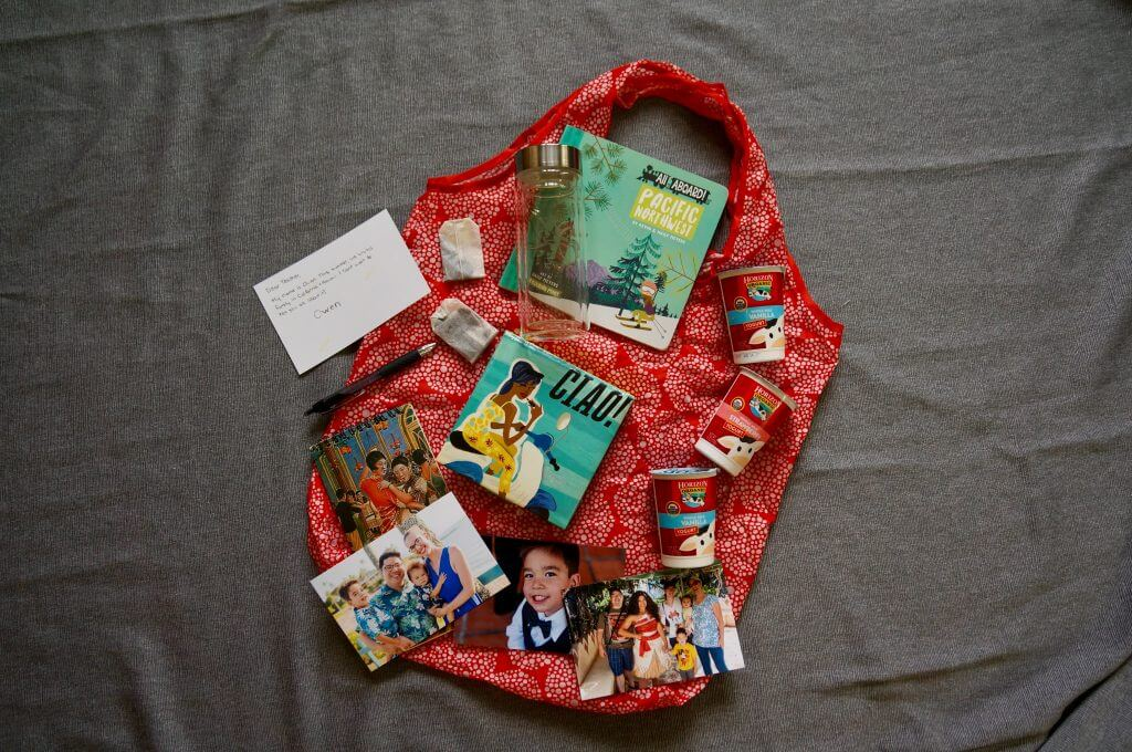 Preschool teacher gift bag