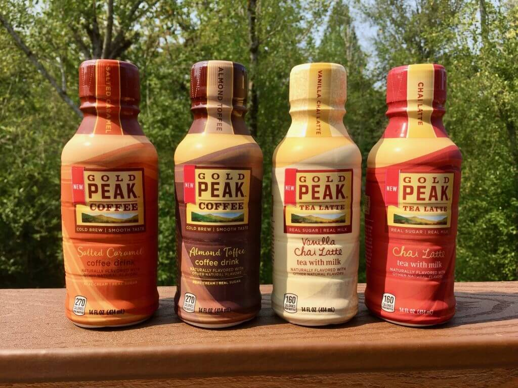 Gold Peak offers new and exciting flavors in their convenient ready to drink coffees and tea.