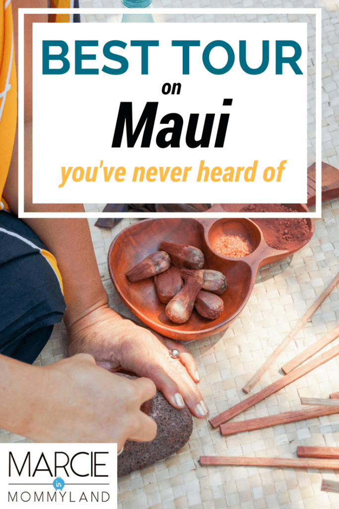 Maui Nei was the best thing to do in Maui with kids.