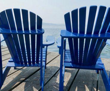 Private dock at Hyatt Regency Lake Washington