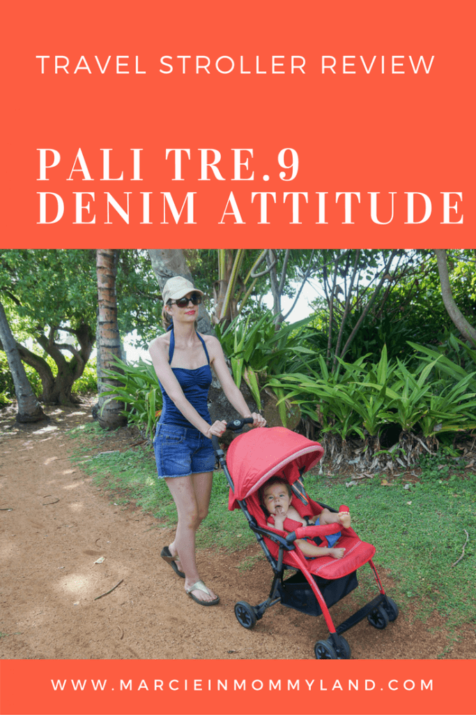 Pali Tre.9 Denim Attitude travel stroller review
