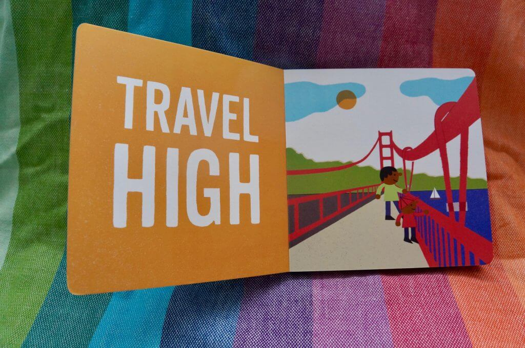 My Little Cities: San Francisco baby board book is a children's book about travel.
