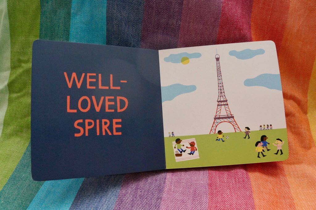 My Little Cities: Paris toddler board book is one of the children's books about the world.
