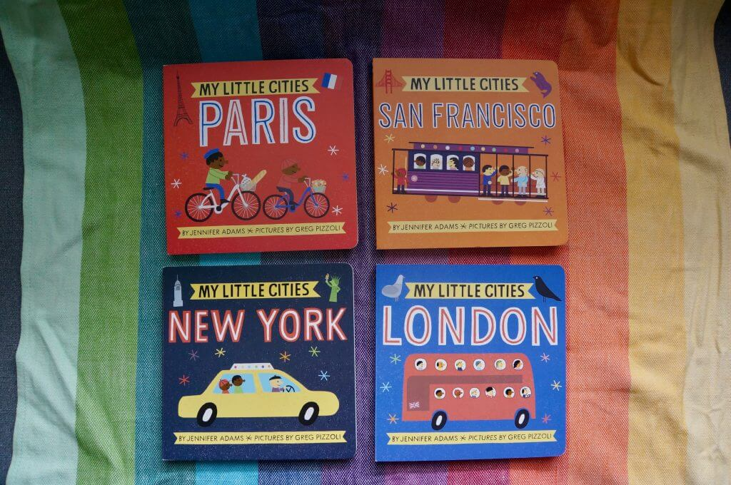 My Little Cities board book series for babies and toddlers