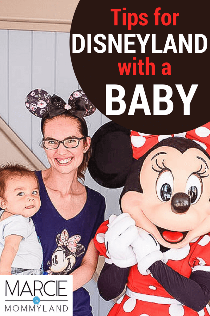 Exploring Disneyland with a Baby on your Disney family vacation with kids