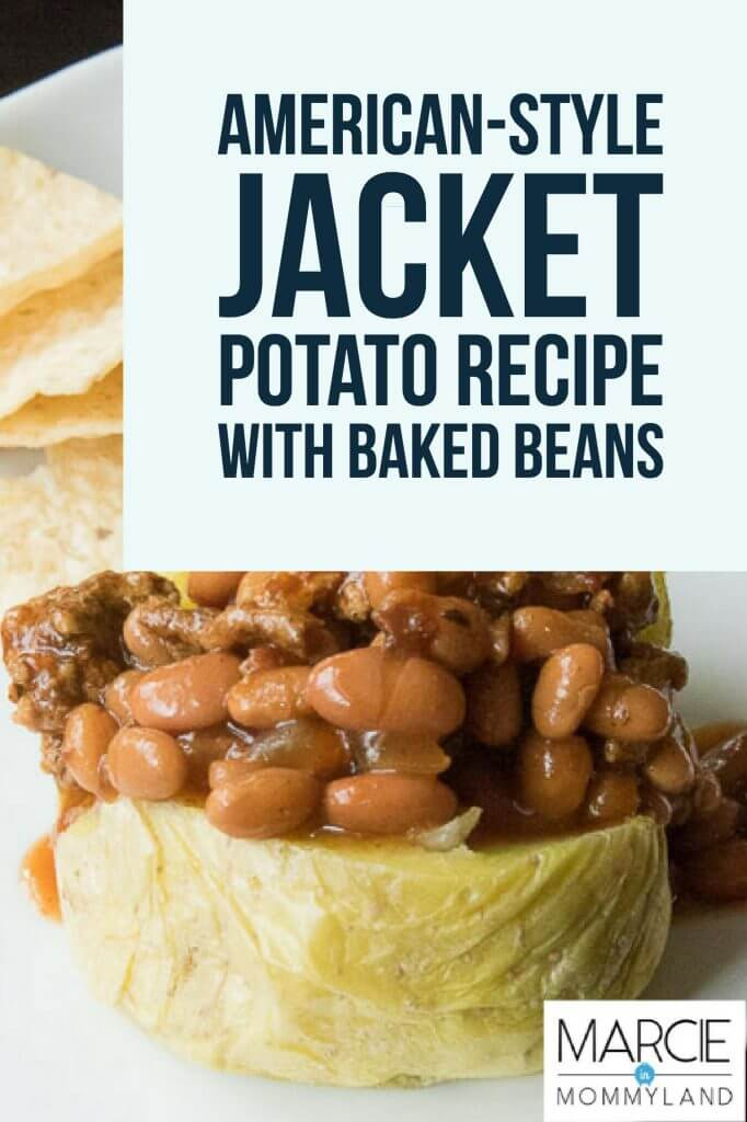 American-Style Jacket Potatoes Recipe with Baked Beans