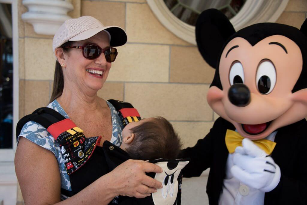 Photo of multigenerational Disneyland trip with Preschoolers