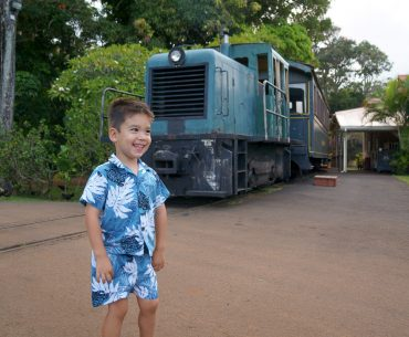 Kauai's Only Luau with a Train Ride