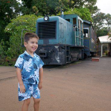 Kauai's Only Luau with a Train Ride