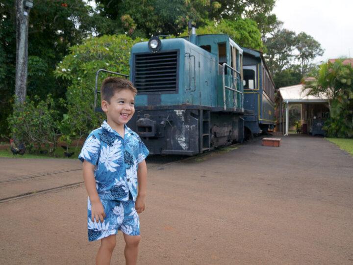 Kilohana Plantation Railway and Lu`au Kalamaku, one of the best luaus on Kauai