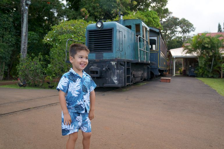 Kilohana Plantation Railway and Lu`au Kalamaku, one of the best luaus on Kauai