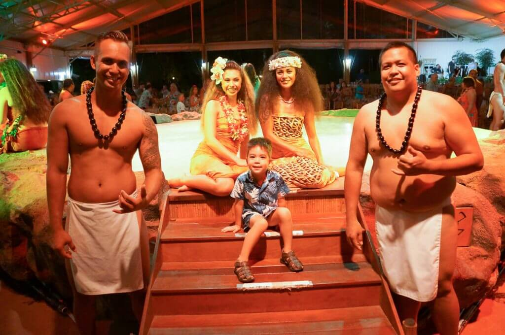 Luau Kalamaku is a fun thing to do in Kauai with kids.