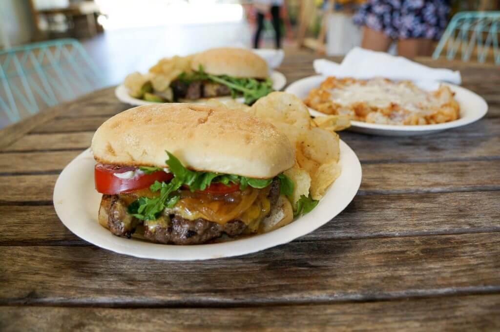 Kickshaws food truck at Warehouse 3540 on Kauai