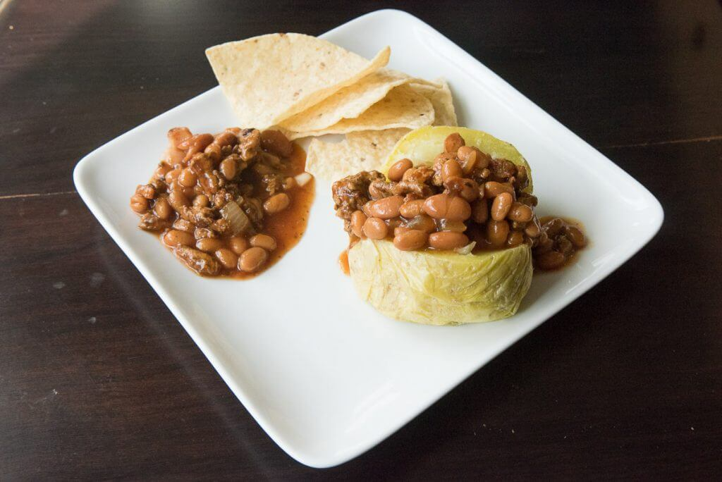 Jacket Potatoes with Bush's Beans
