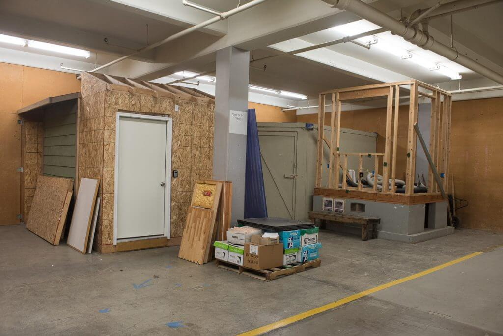I was really impressed with this workshop where staff teaches students construction skills.