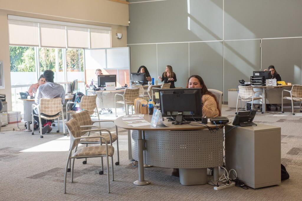 Goodwill works with 9 other non-profits who are represented in this resource center.