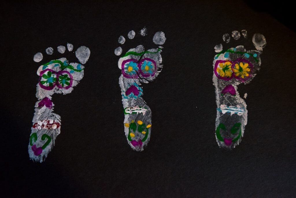 Dia de los Muertos Sugar Skull DIY Painting with Huggies