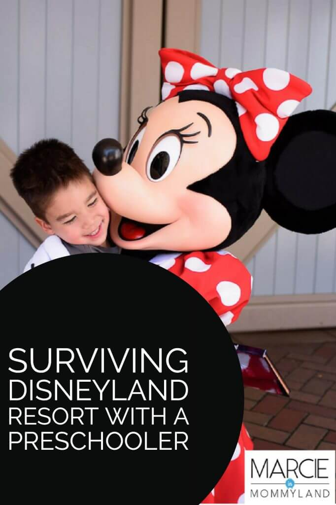Surviving Disneyland with a Preschooler