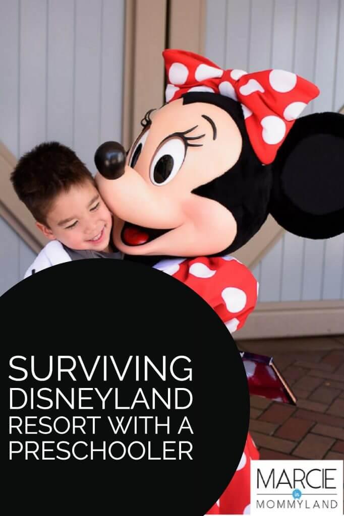 Surviving Disneyland with a Preschooler