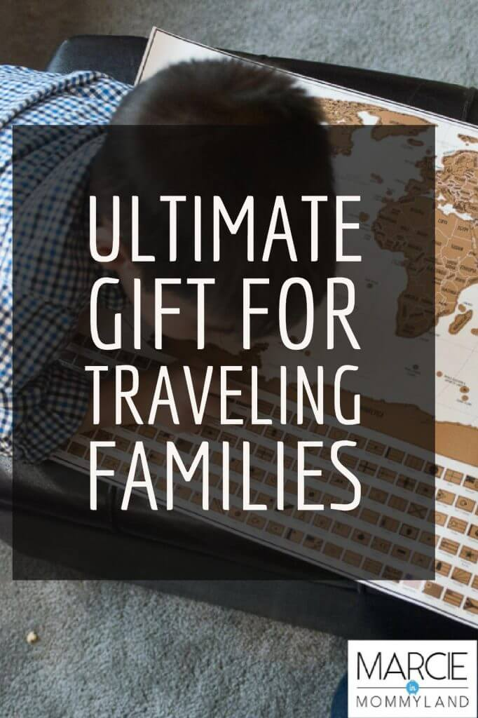 Travel Tracker Map by Landmass Perfect Gift for Traveling Families