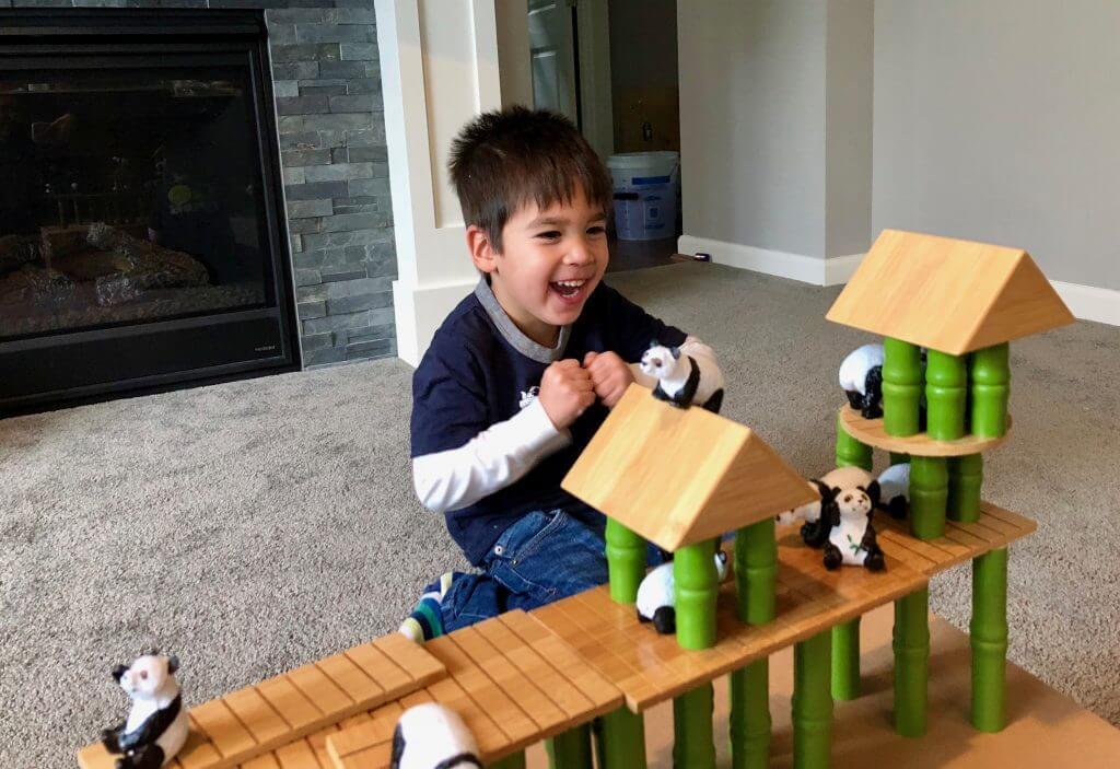 Lakeshore's Panda Village uses eco-friendly bamboo block