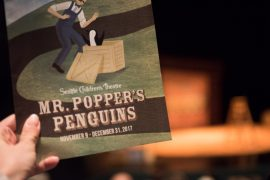 Mr. Popper's Penguins at Seattle Children's Theatre