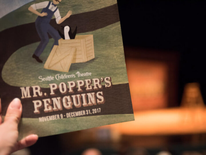 Mr. Popper's Penguins is a Seattle Children's Theatre Holiday Must-See Event