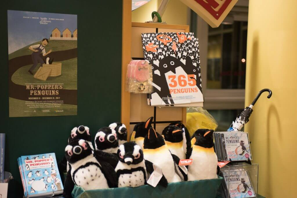 Gift shop at Seattle Children's Theatre