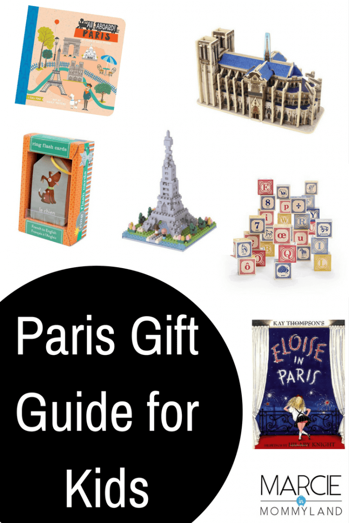 Paris gift guide for babies, toddlers, preschoolers, and kids of all ages | | The Best Paris Gifts for Children featured by top Seattle family travel blog, Marcie in Mommyland