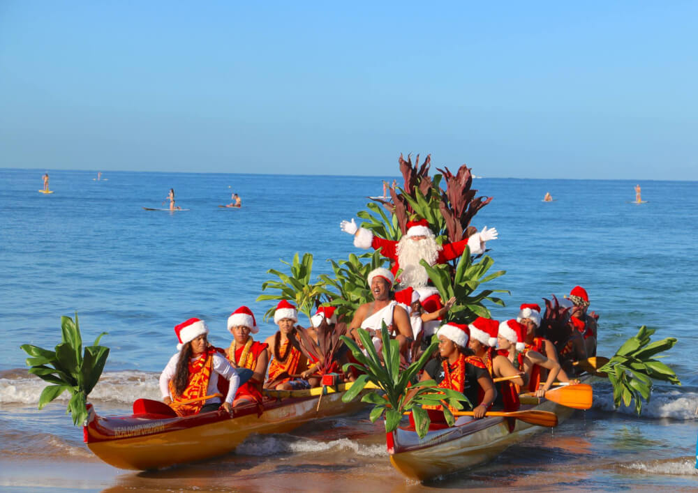 Santa Arrives When Happy Thanksgiving >> Top Things To Do For The Holidays In Hawaii Marcie In Mommyland