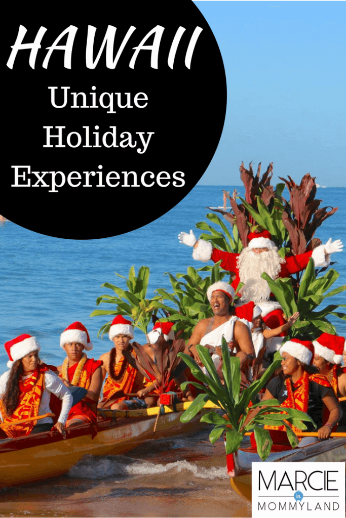 Hawaii Unique Holiday Experiences on Maui, Oahu, Kauai and the Big Island | The Best Experiences for Families Celebrating the Holidays in Hawaii featured by top Seattle family travel blog, Marcie in Mommyland