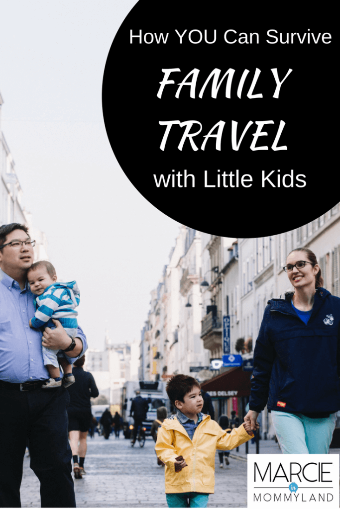 How you can survive family travel with little kids
