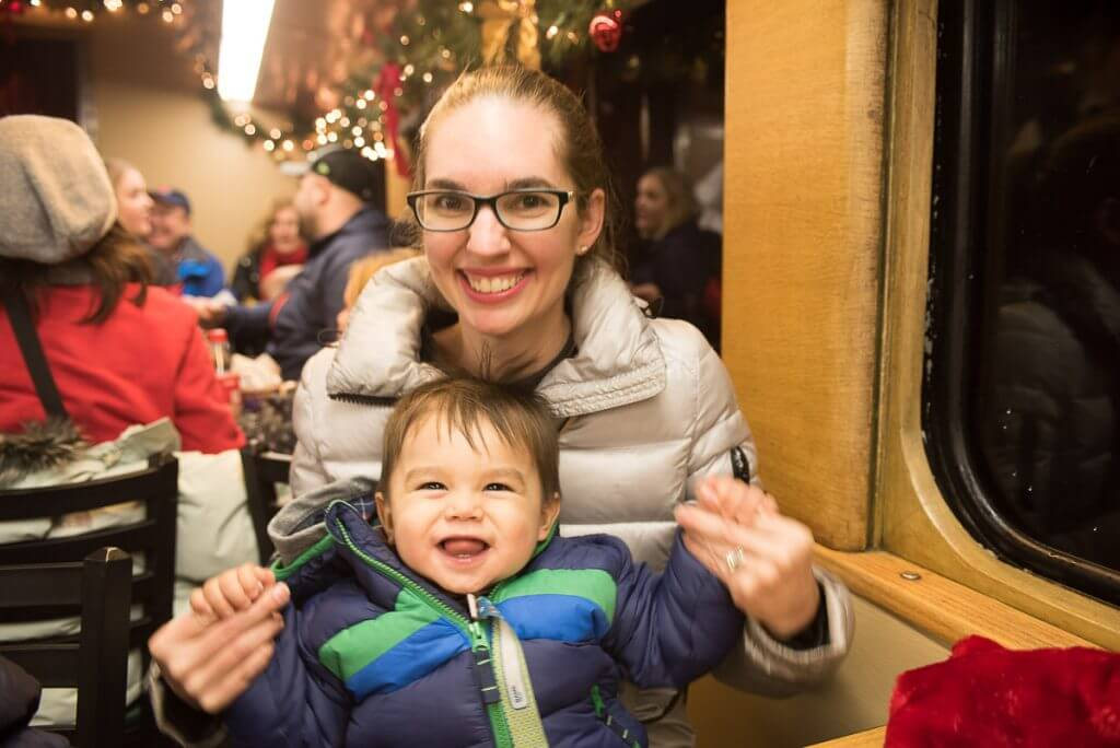 The Polar Express in Elbe, WA is a fun Christmas activity for kids in the Seattle-area.