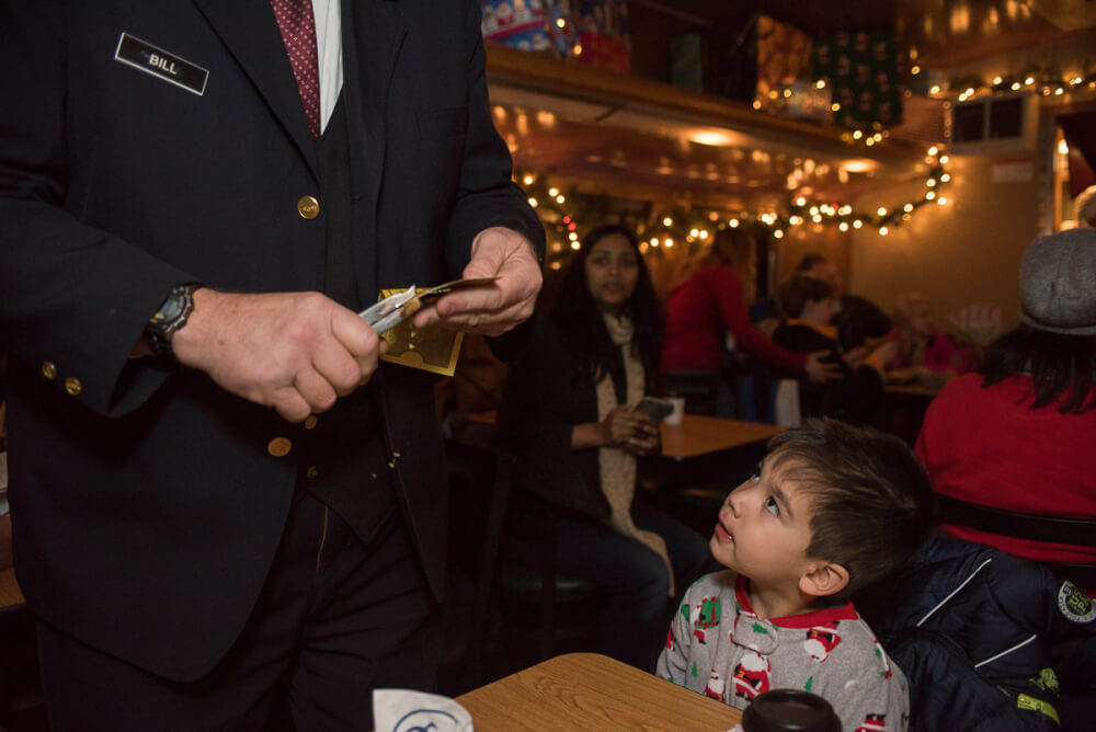the polar express at mt rainier railroad and logging museum