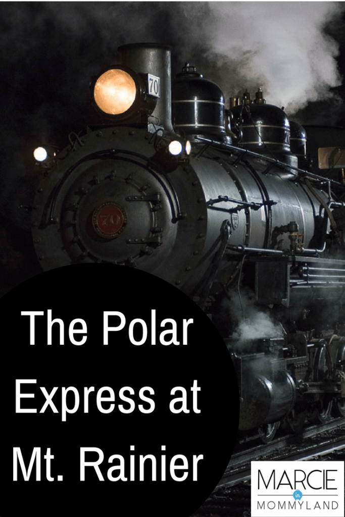 The Polar Express near Mt. Rainier is the ultimate Seattle family holiday event