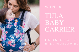 Enter to win a Tula Baby Carrier