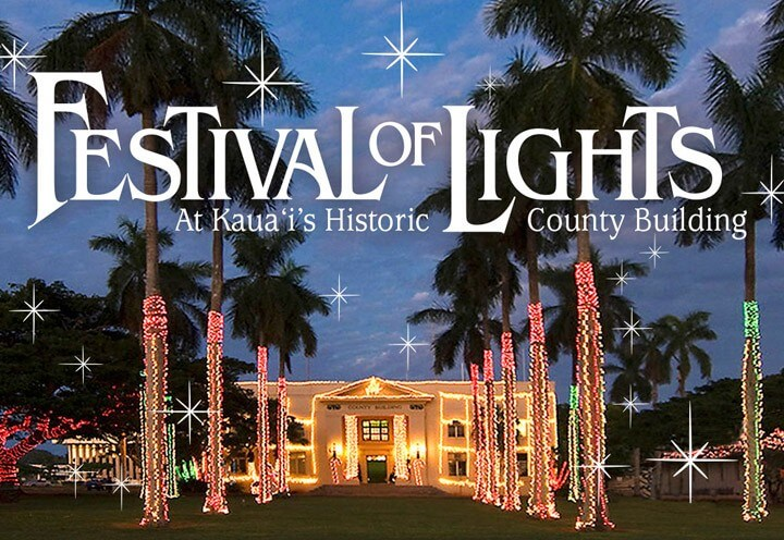 Kauai's Festival of Lights is a Hawaiian Christmas tradition