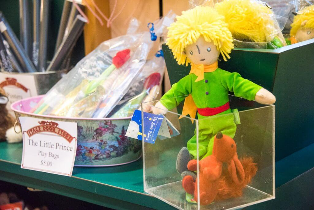 The Little Prince items for children at Seattle Children's Theatre's gift shop