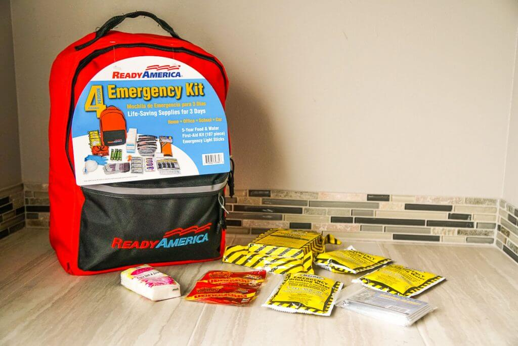 Ready America emergency kit has items that will last 5 years.